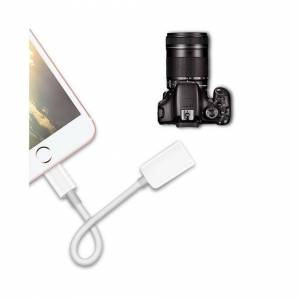 Unbranded To USB Camera Connector Kit Adapter Cable OTG iPhone iPad