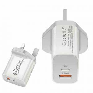 phone charger Fast Charging Adapter UK Plug for iPhone 12/12 Pro