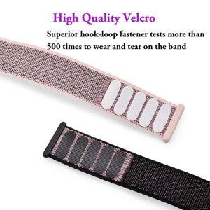 FinestBazaar (Navy Blue, 40mm) Band Strap For Apple Watch Adjustable Waterproof Braided Nylon
