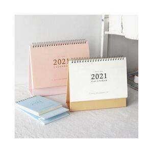 Slowmoose (small pink) Desk Table Coil Calendar