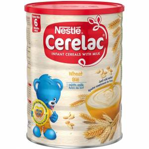 Nestle CERELAC Wheat With Milk Infant Cereal 1kg, 6 Months