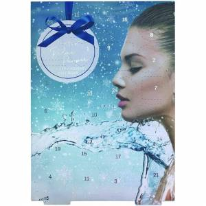 """Badgequo Technic""""Relax and Pamper"""" Festive Countdown 24 Day Bath and Body Beauty Advent C"""