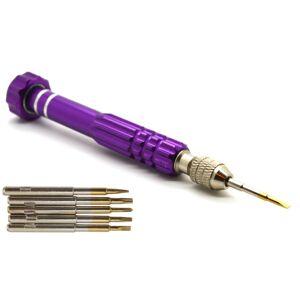 ACENIX 6 in 1 Best 665 Straight Star Pentalobe Screwdriver Tool Kit Set T5 T6 Ph000