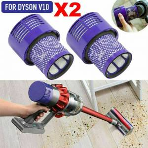 Unbranded 2x Washable Hepa Filter For DYSON Cyclone V10 Animal Clean Vacuum UK