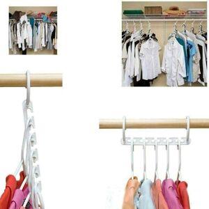 Systems Eleven 8Pcs Space Saving Multi Function Magic Wonder Hanger Clothing Closet