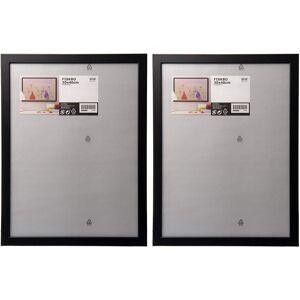Ikea FISKBO Black 30x40cm Photo Frame - Set of 2
