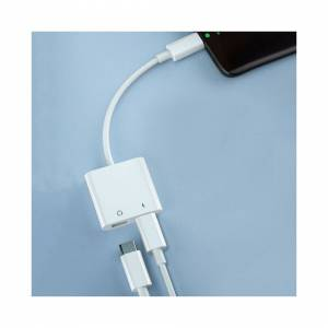 Unbranded Charger for Apple iPhone 7 8 X XR 11 Dual Adapter for iPhone 2 in 1 Headphone