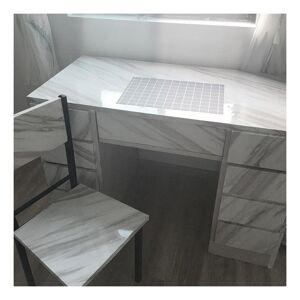 Slowmoose (Marble Light Green/40cm x 1m) Modern Living Room Furniture Desktop Waterproof M