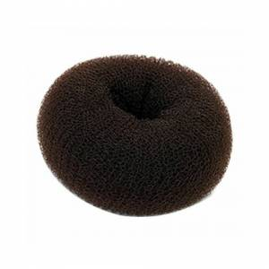 mixmatchmakeup (XXL 12cm, Brown) Bun Mesh Hair Shaper Styler Donut Former Ring Bun Maker Size a