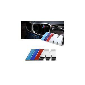 BMW Emblems BMW M SPORT Front Grill Chrome Badge Emblem For M BMW E90 E60 F10 F30 E46 G20 X1