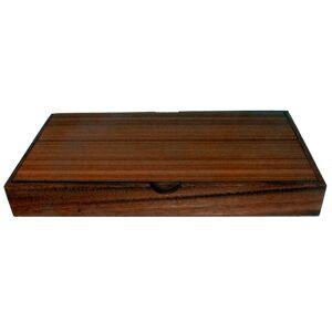 Terrapin Trading Ltd Fair Trade Thai Thailand Wooden Rainwood Mah Jong Set in Wooden Box 37x20x5cm
