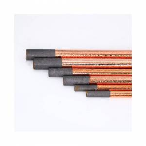 Slowmoose (4mm X 355      round) New Air Carbon Arc Gouging Copper Flat Round Graphite Ele