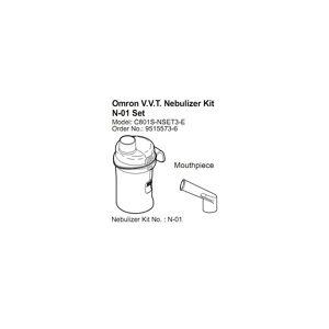 Omron VVT Nebuliser Kit Set N-01 9515573-6 for C-801 C-28P
