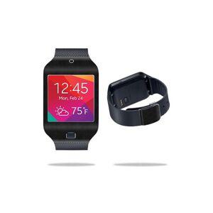 MightySkins SAGGE2NEO-Black Leather Skin for Samsung Galaxy Gear 2 Neo Smart Wat