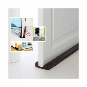 Unbranded Under Door Insulation Draught Draft Excluder Energy Saving Cold Air Stopper Home