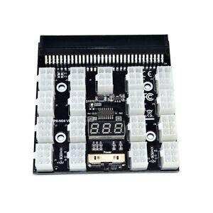Unbranded PCI-E 17x 6Pin Power Supply Breakout Board Adapter Card Server PSU GPU PC