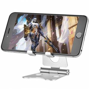 TinMiu Cell Phone Stand Foldable Aluminium Universal Tablet Stand Cradle Holder Dock fo