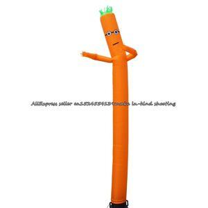 Slowmoose (Minions-Orange) 20ft 6m Air Dancer Sky Inflatable Tube Sky Puppet Tube Man Wind