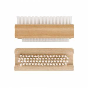 Unbranded Chef Aid Fsc Wooden Nail Brush - Pack Of 2