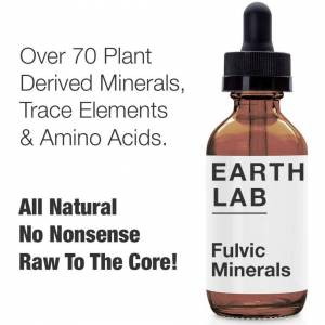 Brand: Earth Lab Earth Lab Fulvic Mineral Concentrate. High Strength Fulvic Acid, Humic Acid & Tr