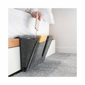 Slowmoose (002) Bedside Storage Organizer Bedside Hanging Pocket for Organizing Magazine P