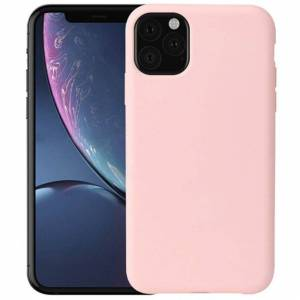 FinestBazaar (Pink, For Apple iPhone 12 Mini) New Shockproof Bumper Clear TPU Case Tempered G