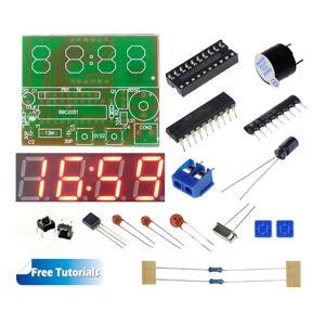 Unbranded C51 4 Bits Digital LED Electronic Clock DIY Kit with Tutorials