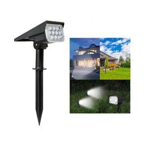 Slowmoose (Green/4PCS) 20,LED Adjustable Solar Spotlight Garden Light IP65 Super-Bright La