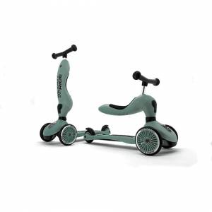 Scoot And Ride Highwaykick 1 2in1 Scooter Forest Ages 1-5 Years