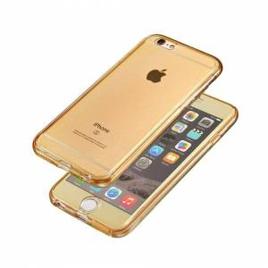 FinestBazaar (Gold, For Apple iPhone 8) Hybrid 360° New Shockproof Case TPU Gel Skin Cover Fo