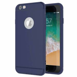 FinestBazaar (Blue, For Apple iPhone 8 Plus) Luxury Ultra Thin Slim Silicone TPU Soft Case Co