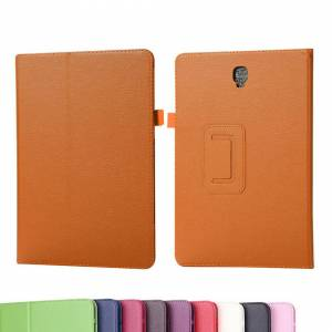 Unbranded (Orange) PU Leather Case Cover for Samsung Galaxy Tab A7 10.4 2020 (SM-T500/T505