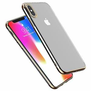FinestBazaar (Gold, For Apple iPhone X) Case For Apple iPhone X 8 7 6S Plus Cover New ShockPr
