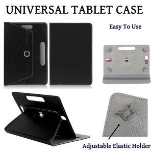 Gadgets2Go1 (Black) Universal 10 INCH Folio Cover For Alba / Samsung / Lenovo / Amazon Kindl