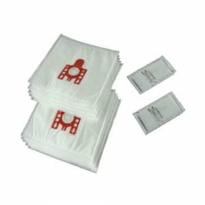 Ufixt 10 X Miele FJM Type Vacuum Cleaner Hoover Dust Bags & Filters Cat Dog Red Tab