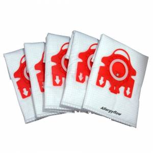 Ufixt Pack of 5 Miele S4212 Microfibre Vacuum Cleaner Dust Bags