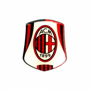 Unbranded Ac Milan Crest Pin Badge - Football Official Club Gift -  ac milan badge crest f