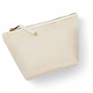 Westford Mill (S, Natural) Westford Mill Canvas Accessory Bag (Pack of 2)