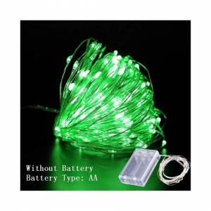 Slowmoose (Dianchihe Green, 10m 100led) LED String Lights  Copper Wire Decorations for Hom