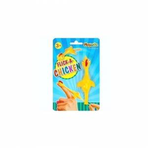 The Home Fusion Company Children Kids Flick A Chicken Novelty Catapult Party Bag Toy Pinata Fillers