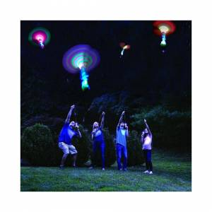 Slowmoose (As Seen on Image) Bamboo Dragonfly With Light, Shooting Rocket Flying Parachute