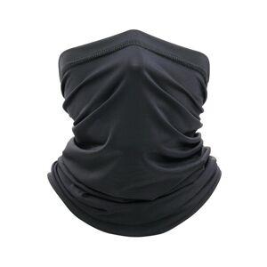 JS One (Black, 25cm x 50cm) Unisex Multi Use Bandana Face Cycling Biker Outdoor Snood N