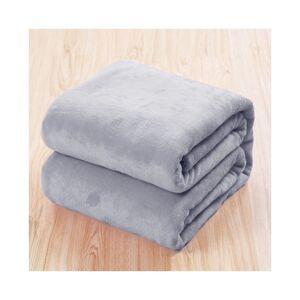 Unbranded (Grey, 120*200cm) Luxury Throw Blanket