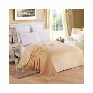 Unbranded (Khaki, 120*200cm) Luxury Throw Blanket