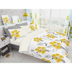 Gaveno Cavailia (King, Yellow) Poppy Floral Duvet Cover