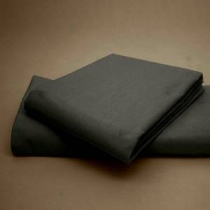 Unbranded (Charcoal, Pillow Cases) Plain Polycotton Base Valance Bed Sheets ALL Sizes