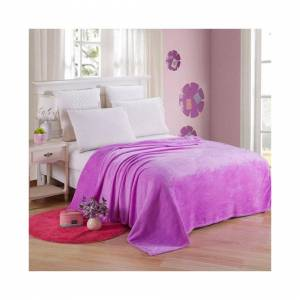 Unbranded (Purple, 120*200cm) Luxury Warm Soft Large Polar Fleece Throw Blanket Sofa Bed R