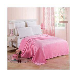 Unbranded (Pink, 120*200cm) Luxury Throw Blanket