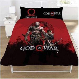 God Of War (Single, Black/Red) God Of War Warriors Duvet Set