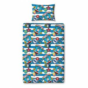 Character World Thomas The Tank Engine And Friends Patch Single Duvet Cover Set Polyester